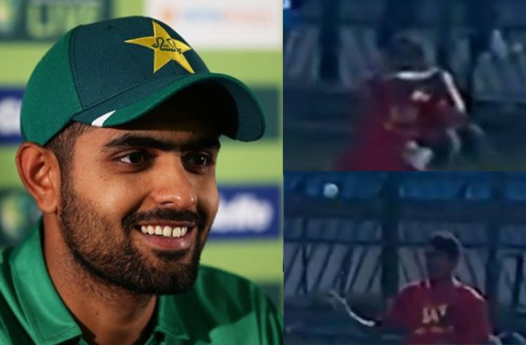 Watch: Babar Azam's brilliant catch as 'Ball-Boy' in 2007 against SA