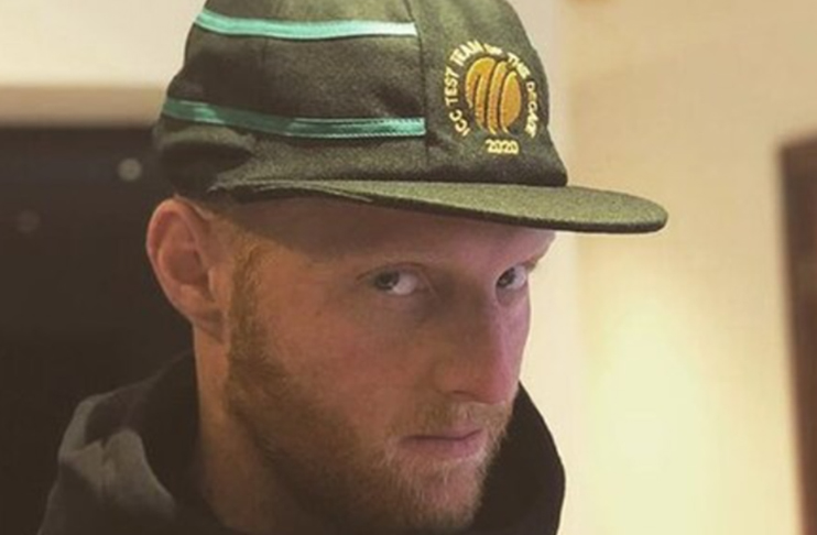 Stokes takes a dig at Test Team of the Decade cap